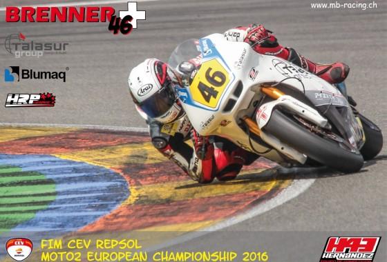 Marcel Brenner #46 Moto2 H43